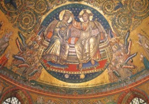 Mosaico Abside roma