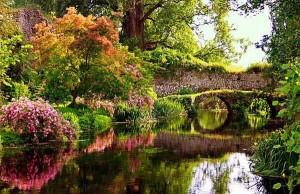giardini di ninfa latina